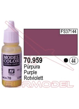 Pintura Púrpura 959 Model Color (044)