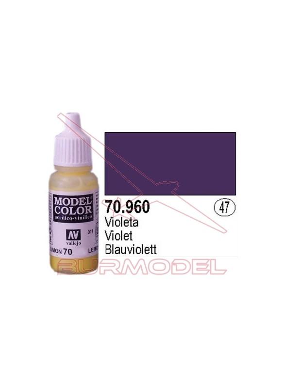 Pintura Violeta 960 Model Color (047)