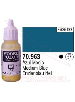 Pintura Azul Medio 963 Model Color (057)