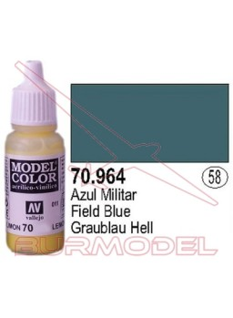 Pintura Azul militar 964 Model Color (058)
