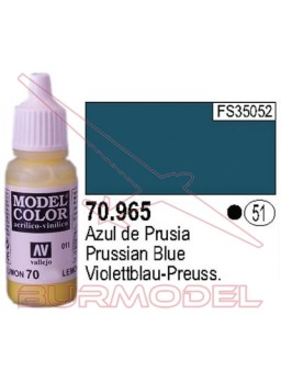 Pintura Azul de prusia 965 Model Color (051)