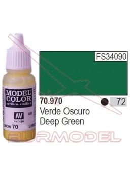 Pintura Verde oscuro 970 Model Color (072)