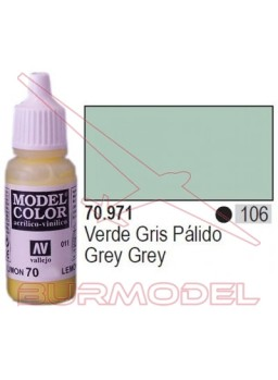 Pintura Verde gris pálido 971 Model Color (106)