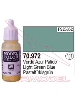 Pintura Verde azul pálido 972 Model Color (107)