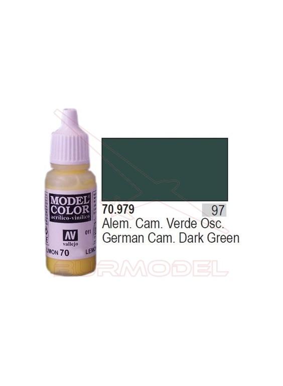 Pintura Verde oscuro alem. cam. 979 Mod. C. (097)