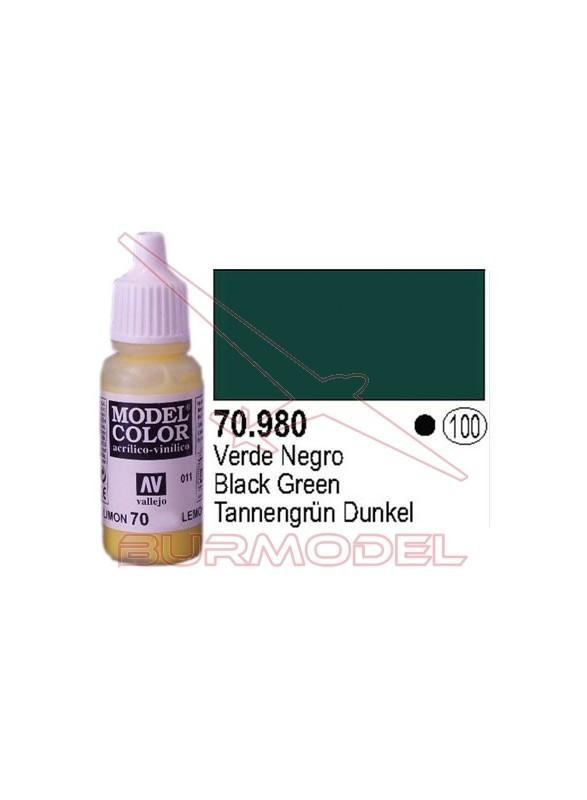 Pintura negro verde 980 Model Color (100)
