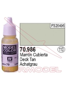 Pintura Marrón cubierta 986 Model Color (110)