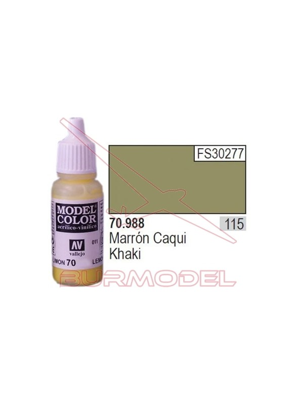 Pintura Marrón caqui 988 Model Color (115)