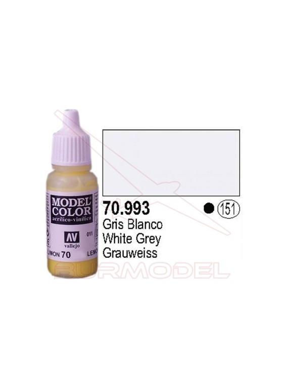 Pintura Gris blanco 993 Model Color (151)