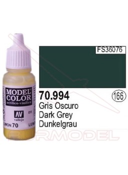 Pintura gris oscuro 994 Model Color (166)