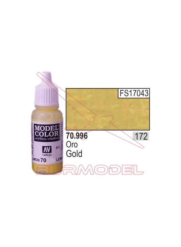 Pintura Oro 996 Model Color (172)