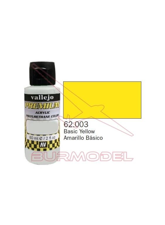 Pintura Premium Vallejo Amarillo básico