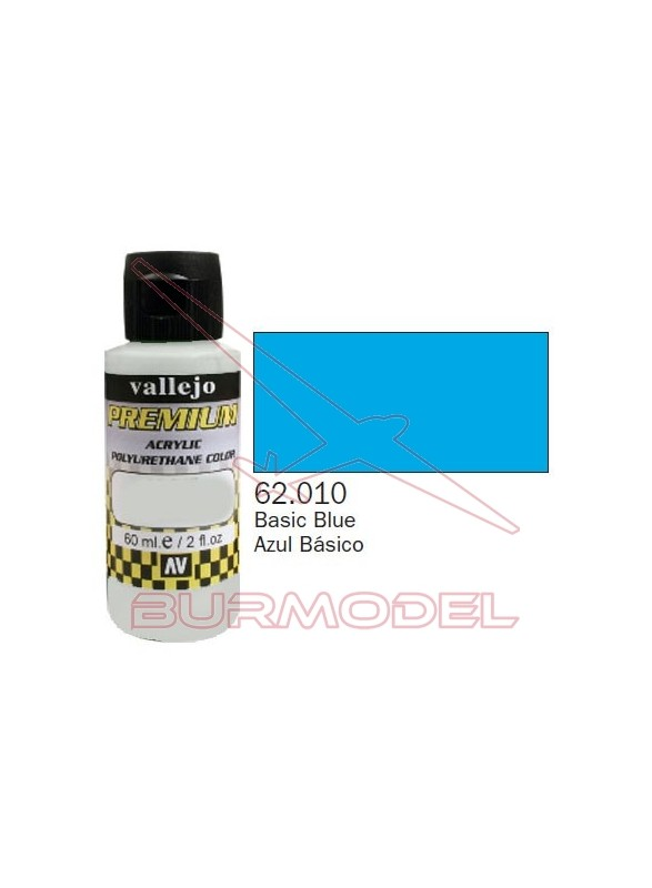 Pintura Premium Vallejo Azul básico
