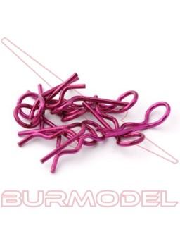 Clips carroceria color púrpura 1/8