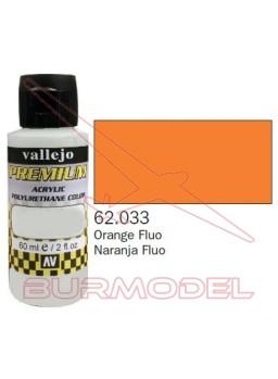 Pintura Premium Vallejo Naranja Fluorescente