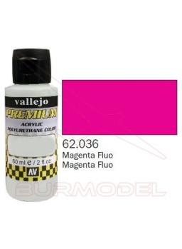Pintura Premium Vallejo Magenta fluorescente