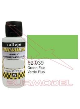 Pintura Premium Vallejo Verde Fluorescente
