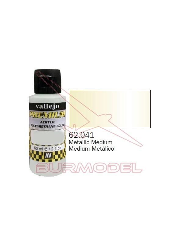Pintura Premium Vallejo Medium metálico
