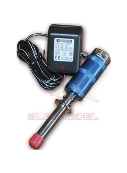 Chispómetro con cargador e indicador