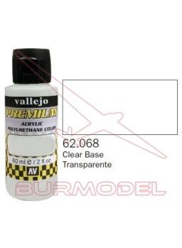 Pintura Premium Vallejo Base transparente