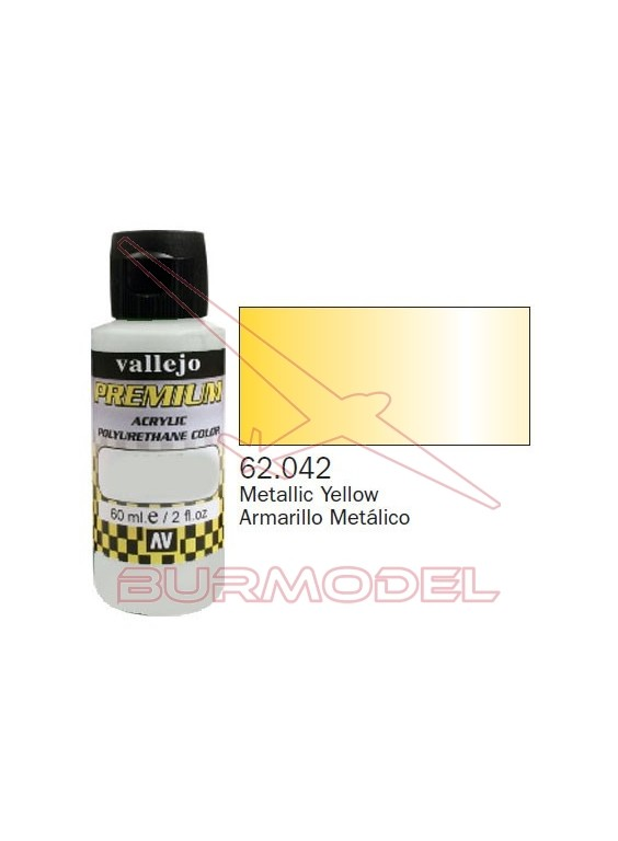 Pintura Premium Vallejo Amarillo metálico