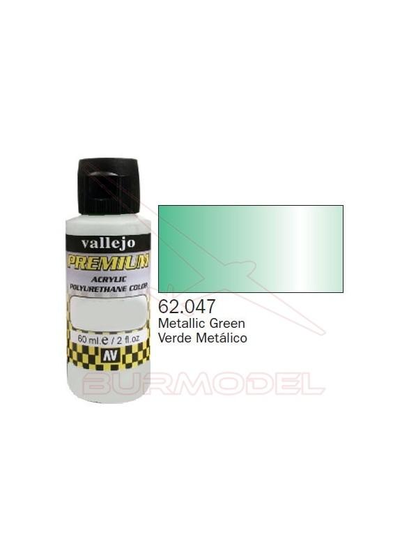 Pintura Premium Vallejo Verde metálico