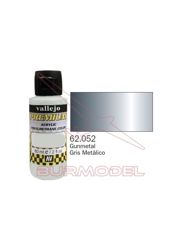 Pintura Premium Vallejo Gris metálico