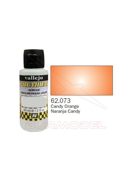 Pintura Premium Vallejo Naranja transparente