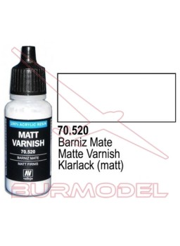 Barniz mate 520 Model Color (192) y Model Air