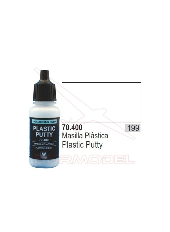 Masilla plástica 400 Model Color (199)