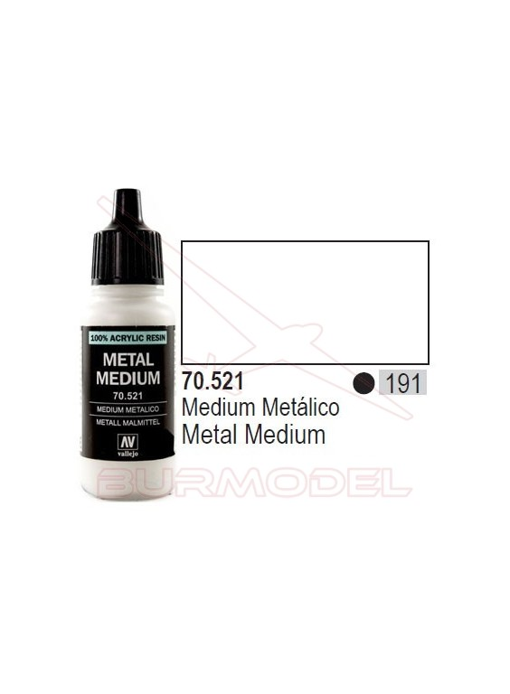 Medium Metálico 521 Model Color (191)