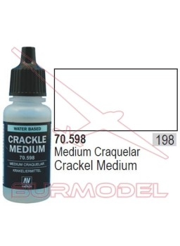 Medium para craquelar 598 Model Color (198)
