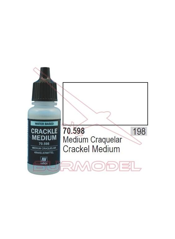 Medium para craquelar 598 Model Color (198)