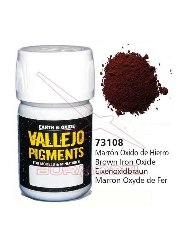 Pigmento Vallejo Marrón óxido hierro