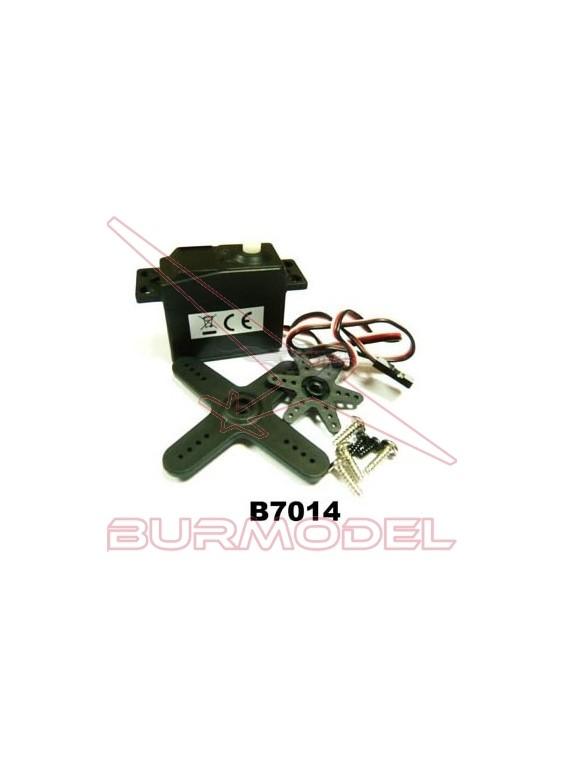 Servo 3 Kg BSD eléctrico/combustible