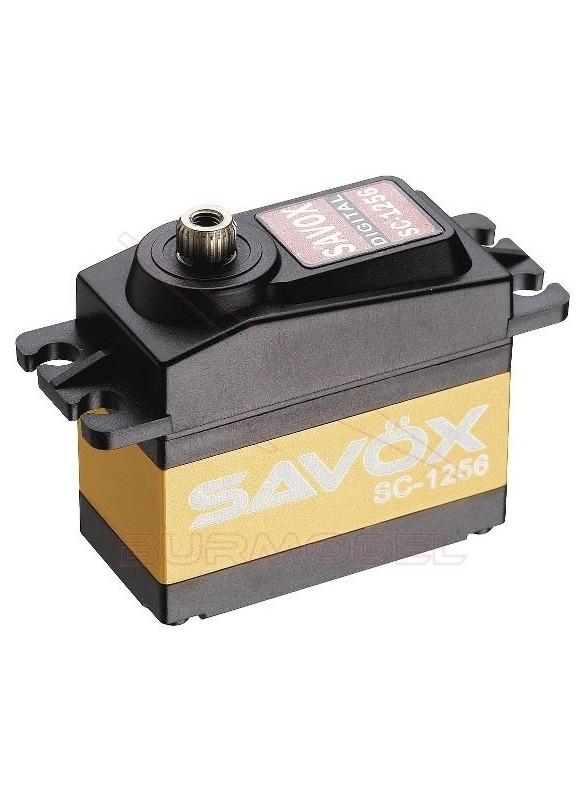Servo digital 20 Kg piñonería titanio Savox