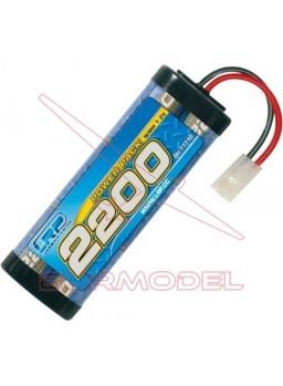 Batería 7,2 v powerpack 2200 conector tamiya