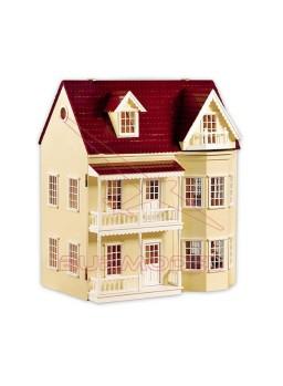 Casa de muñecas Dover 59x41x71