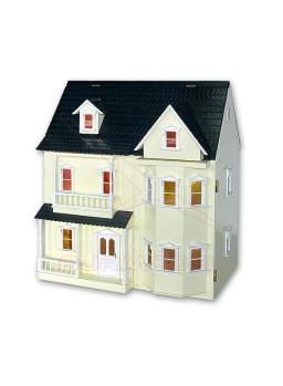 Casa de muñecas Liverpool montada 1:12
