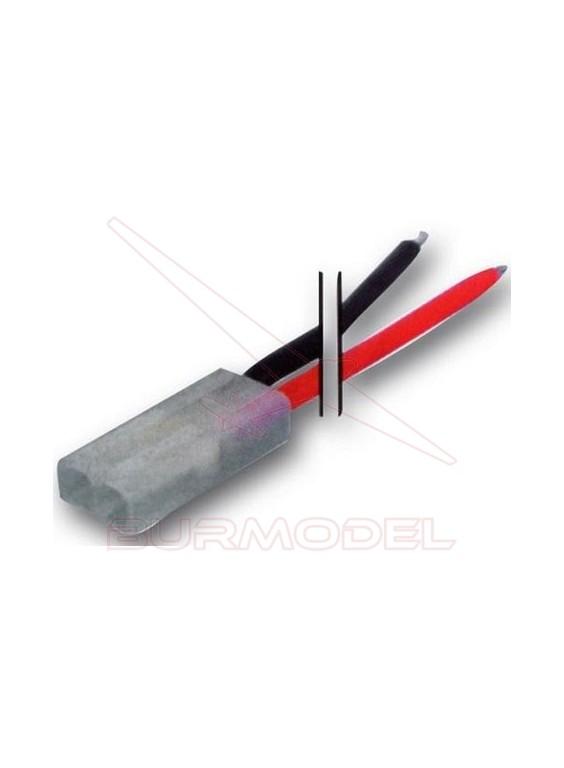Cable con conexión tamiya hembra con cable