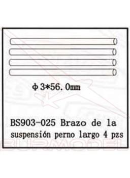 Ejes trapecio largos BSD Racing comb./eléctrico