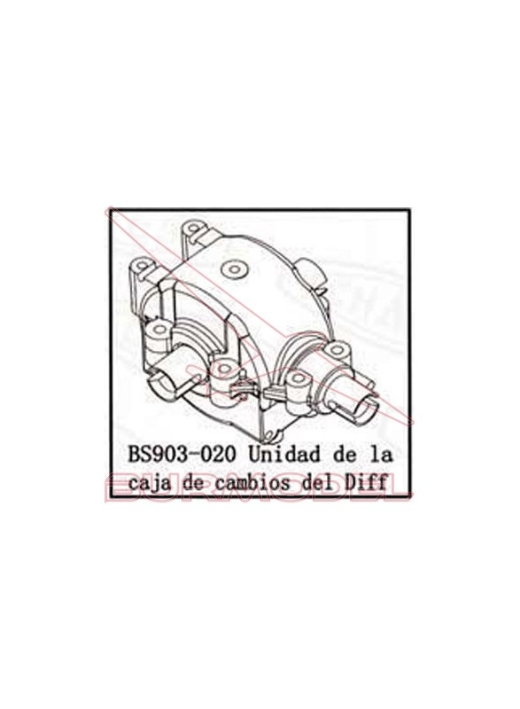 Diferencial completo BSD Racing combustible