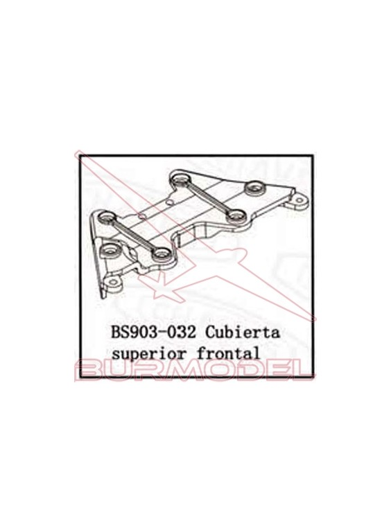 Cubierta superior frontal BSD Racing