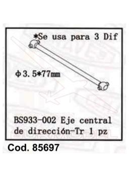 Palier central dirección BSD combustible (85601)