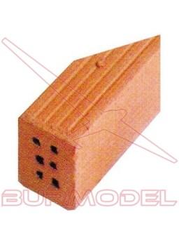 Ladrillos ángulo 6 agujeros (12und)
