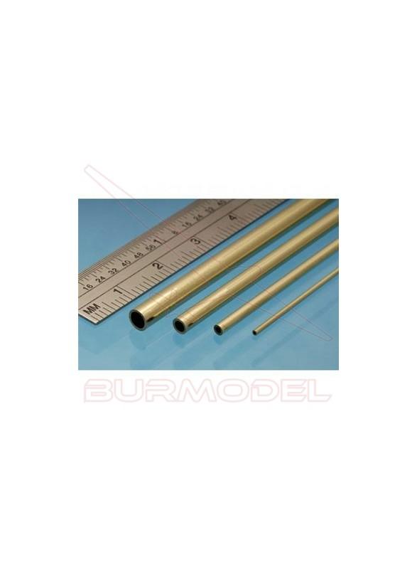 Tubo de latón 6.00 x 0.45 mm (3 unidades)