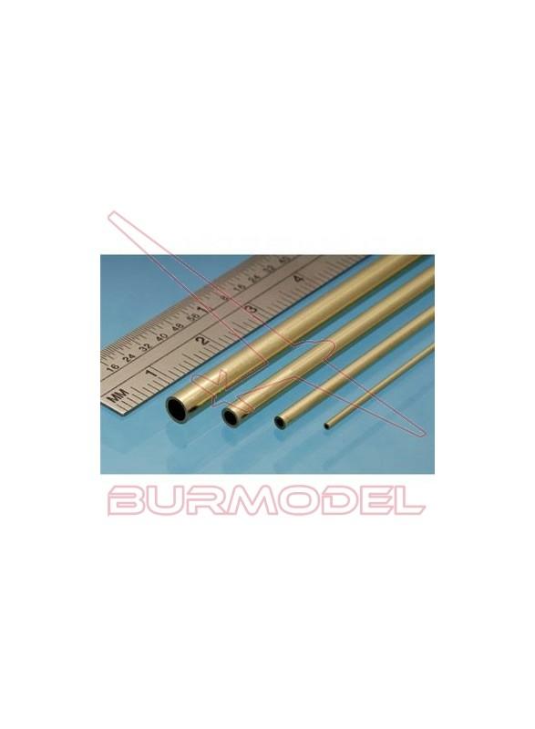 Tubo de latón 7.00 x 0.45 mm ( 3 unidades)