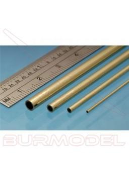 Tubo de latón 8.00 x 0.45 mm ( 2 unidades)