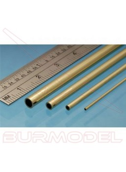 Tubo micro latón 1.50x0.80 mm (3 unid.)