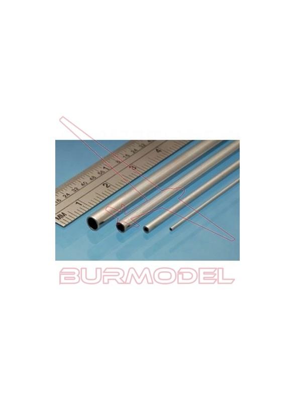 Tubo de aluminio 1.00 x 0.25 mm (4 unid.)